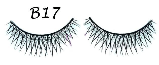 Crisscross Black Natural False Eyelash #B17