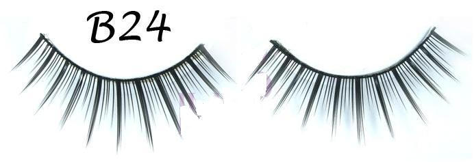 Wispy False Eyelash with Variation in Volume #B24