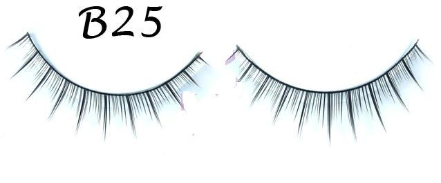 Long Strands Tipped False Eyelash #B25