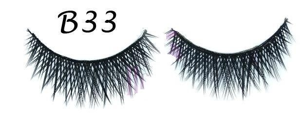 Super Dense Crisscross False Eyelash With Polished Tip #B33